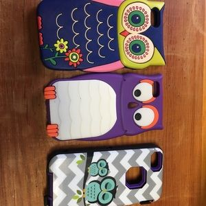 Accessories - 3  owl phone cases for iPhone 5/5s